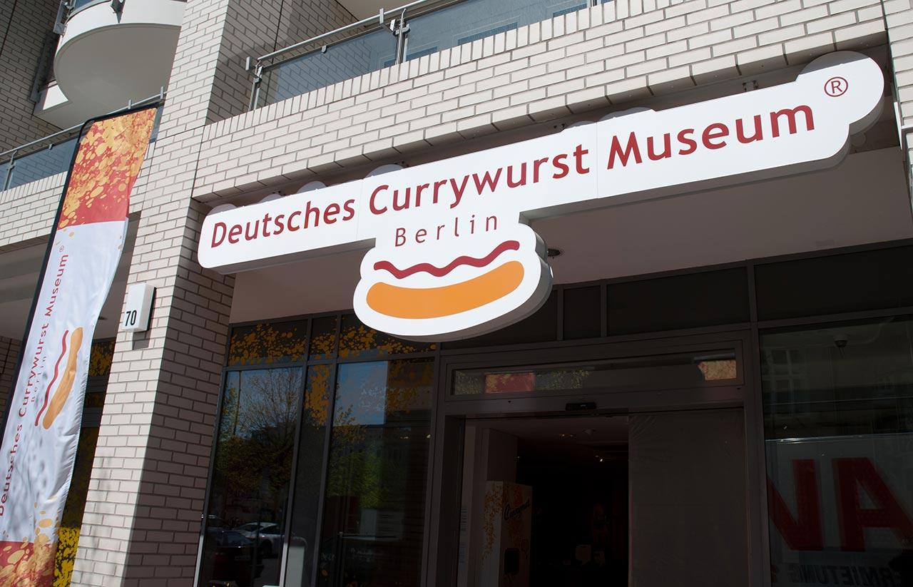 Musée de la Currywurst Berlin Currywurstmuseum