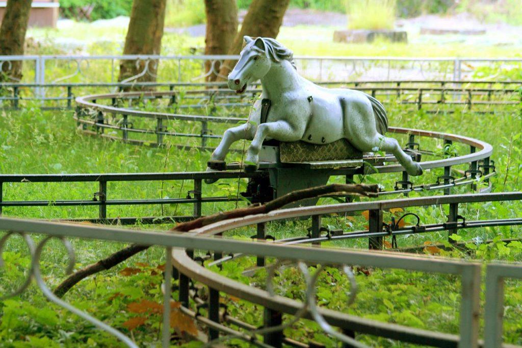 Spreepark parc d'attractions abandonné Berlin