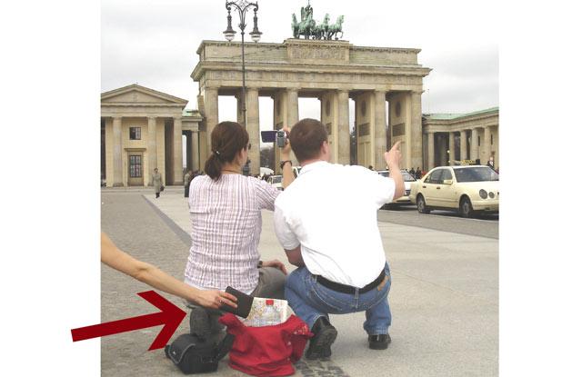 Vol à la tire Berlin
