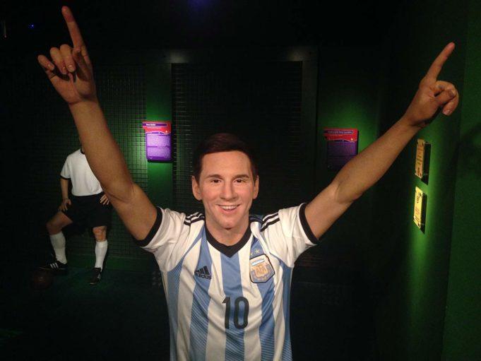 Musée de cire Madame Tussauds Berlin Messi