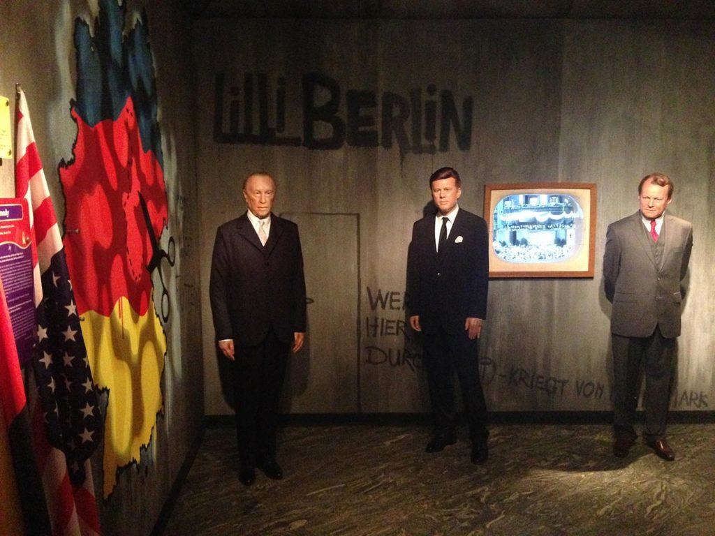 Musée de cire Madame Tussauds Berlin Kennedy