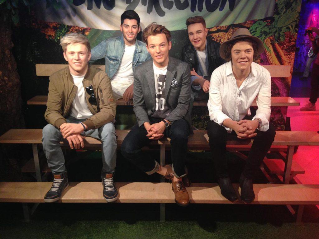 Musée de cire Madame Tussauds Berlin One Direction