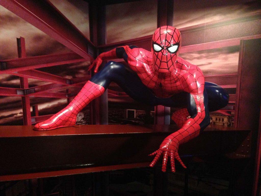 Musée de cire Madame Tussauds Berlin Spiderman